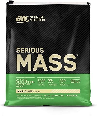 Optimum Nutrition Serious Mass Protein Powder