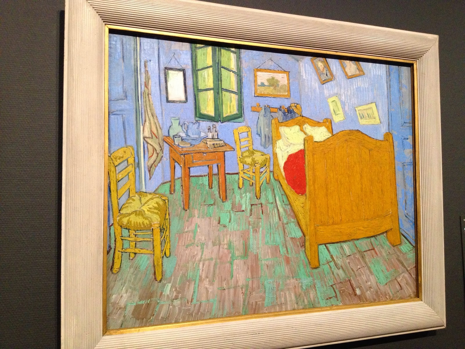 Amsterdam - One of 3 versions of Van Gogh's Vincent's Bedroom in Arles