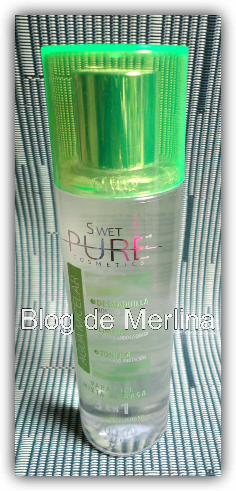 Agua Micelar Swet Pure Cosmetics ~ Maquillaje... Tips, Productos y ...