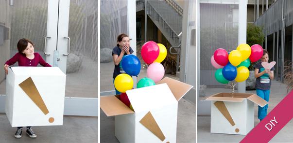 M s y m s manualidades 10 divertidas sorpresas con globos - Como conseguir globos de helio ...