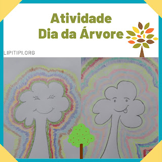 Atividade lúdica dia da árvore Ensino Fundamental