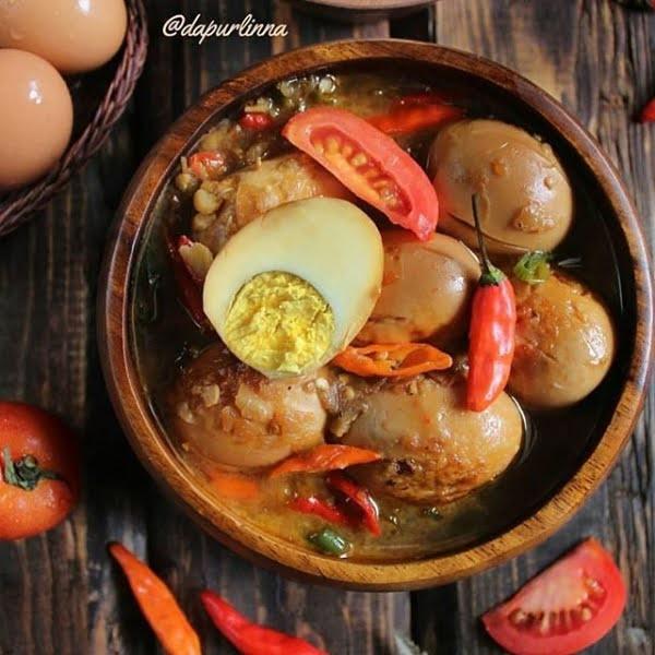 Resep Spesial Rumahan Asem-Asem Telur