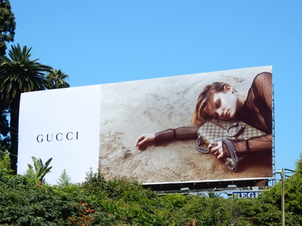 Gucci FW 2015 fashion billboard