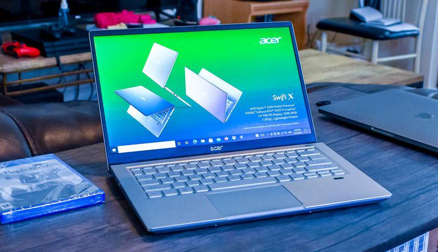 Đánh giá laptop Acer Swift X