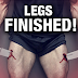 "Leg workout ""Finisher"" Tips To Grow Muscle"
