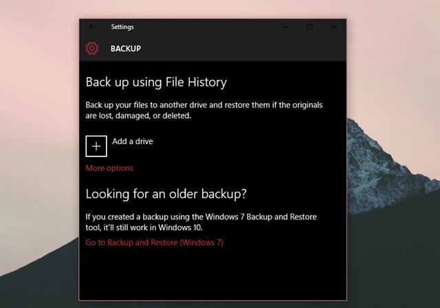 Bật tính năng này trên Windows 10, bạn sẽ không sợ mất dữ liệu