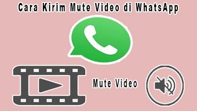 Cara Kirim Mute Video di WhatsApp
