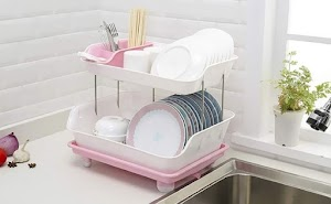 10 Best Plastic Dish Drainer Basket With Tray