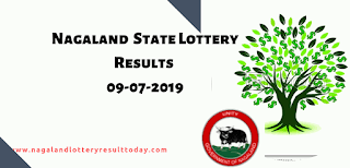 Nagaland State Lottery 09-07-2019