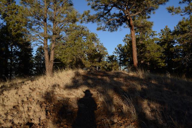climbing an easy trail