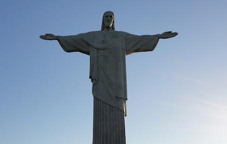 Foto do Cristo. A história do Cristo Redentor