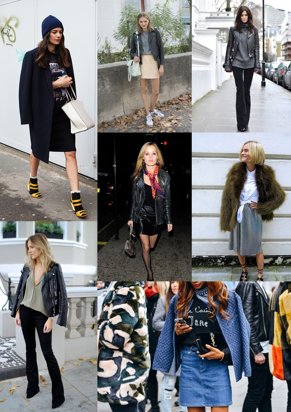 fashion street style inspiration taken from pinterest