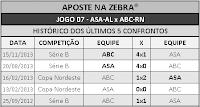 LOTECA 710 - HISTÓRICO JOGO 07