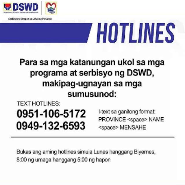 dswd hotline
