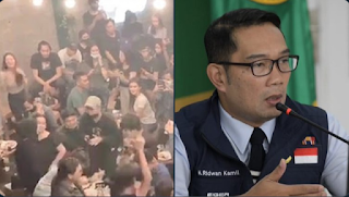 Party Muda-mudi Di Bekasi Peringatan Untuk RK, Kritik PSBB Jakarta Tapi Abaikan Wilayah Sendiri