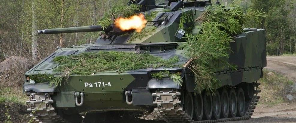 Фінляндія модернізує парк бойових машин піхоти CV90