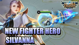 cara main silvanna mobile legends