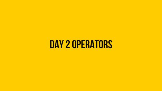 Day 2 Operators hackerrank 30 days of code solution