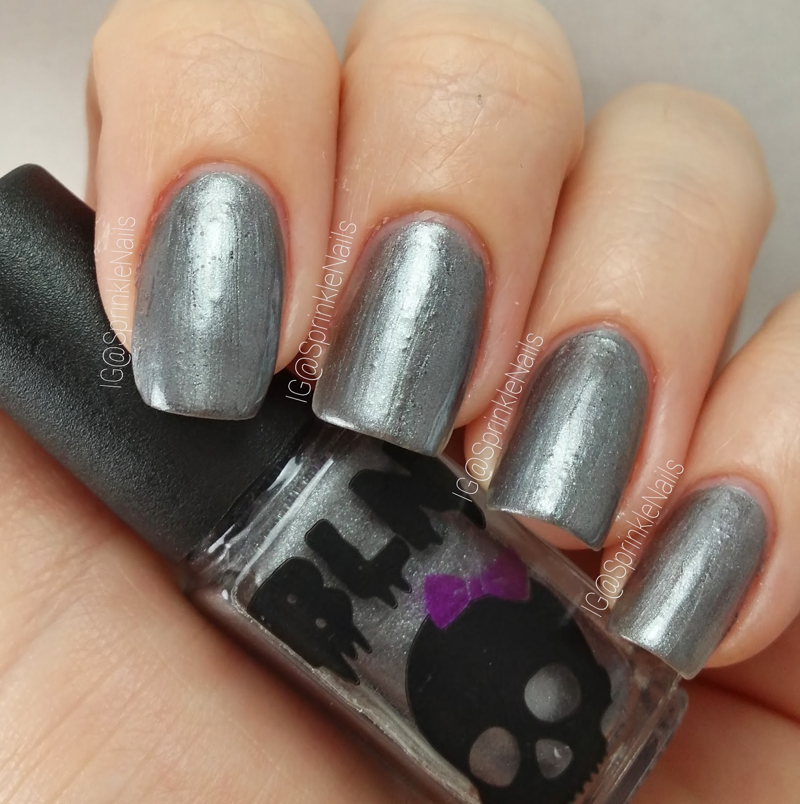 Colors Of Chaos: Introducing Black Label Nails, Swatches