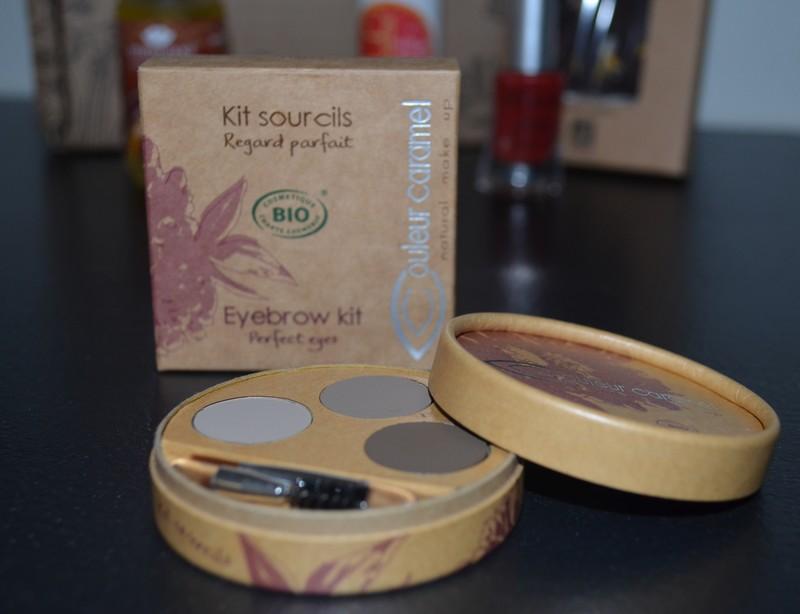 Kit sourcil Regard parfait BIO / Couleur Caramel