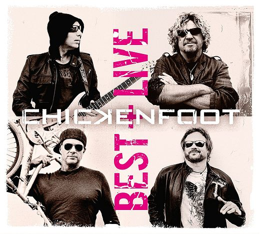 CHICKENFOOT - Best + Live (2017) full