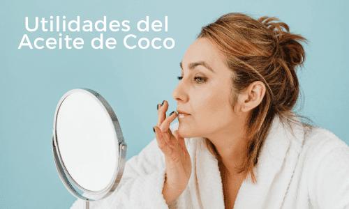 Utilidades del Aceite de coco como para adelgazar, para el pelo, etc...