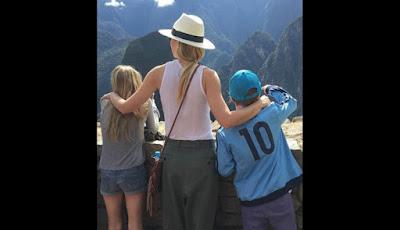 Gwyneth Paltrow Machu Picchu