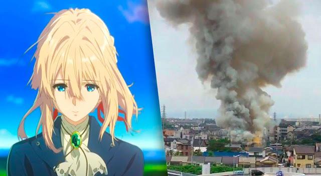 Kyoto Animation es arrasado por un incendio provocado