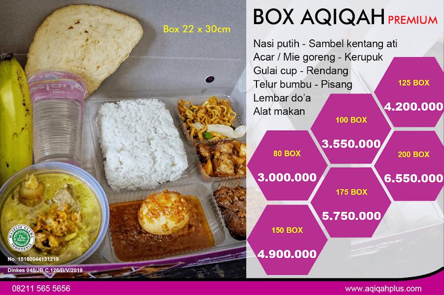 paket aqiqah box praktis solo
