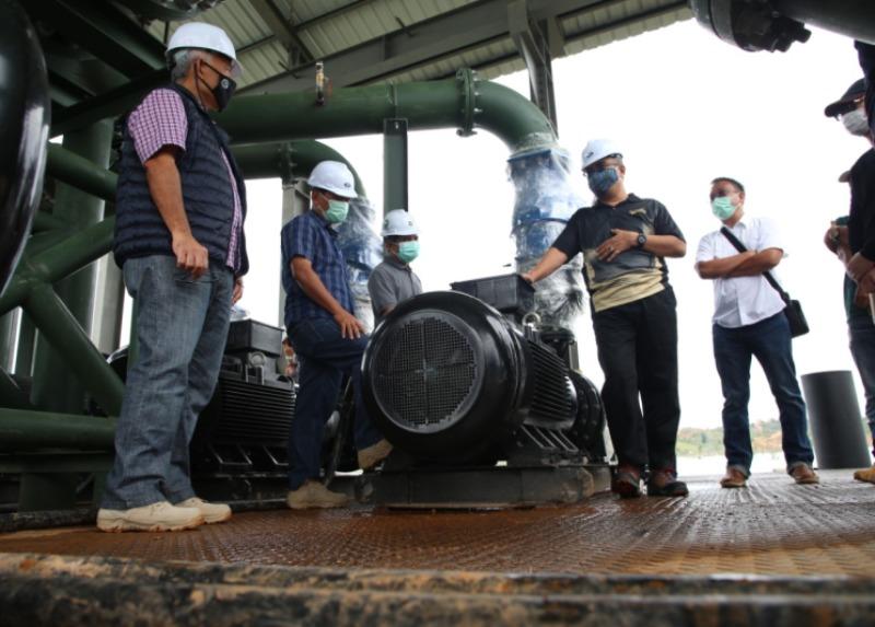 BP Batam Pastikan Ketersediaan Air Baku di Batam Terjamin