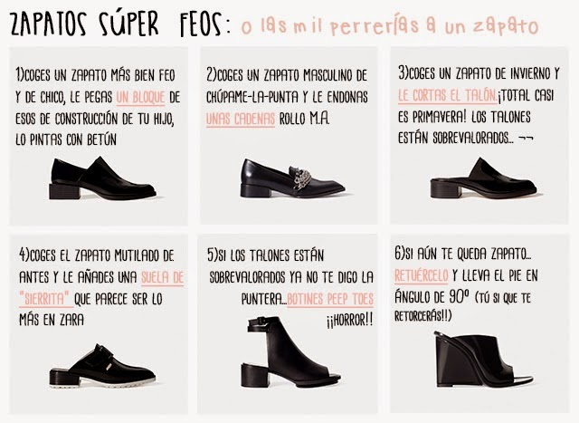 zara zapatos tendencia
