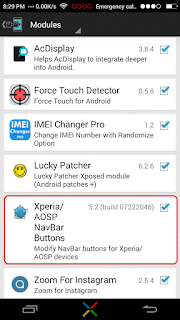 Enable it inside xposed installer