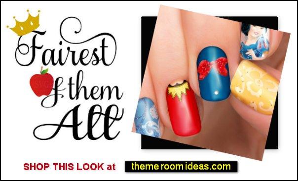 Snow White Disney nail polish stickers  Snow White, Princess - Disney nail stickers