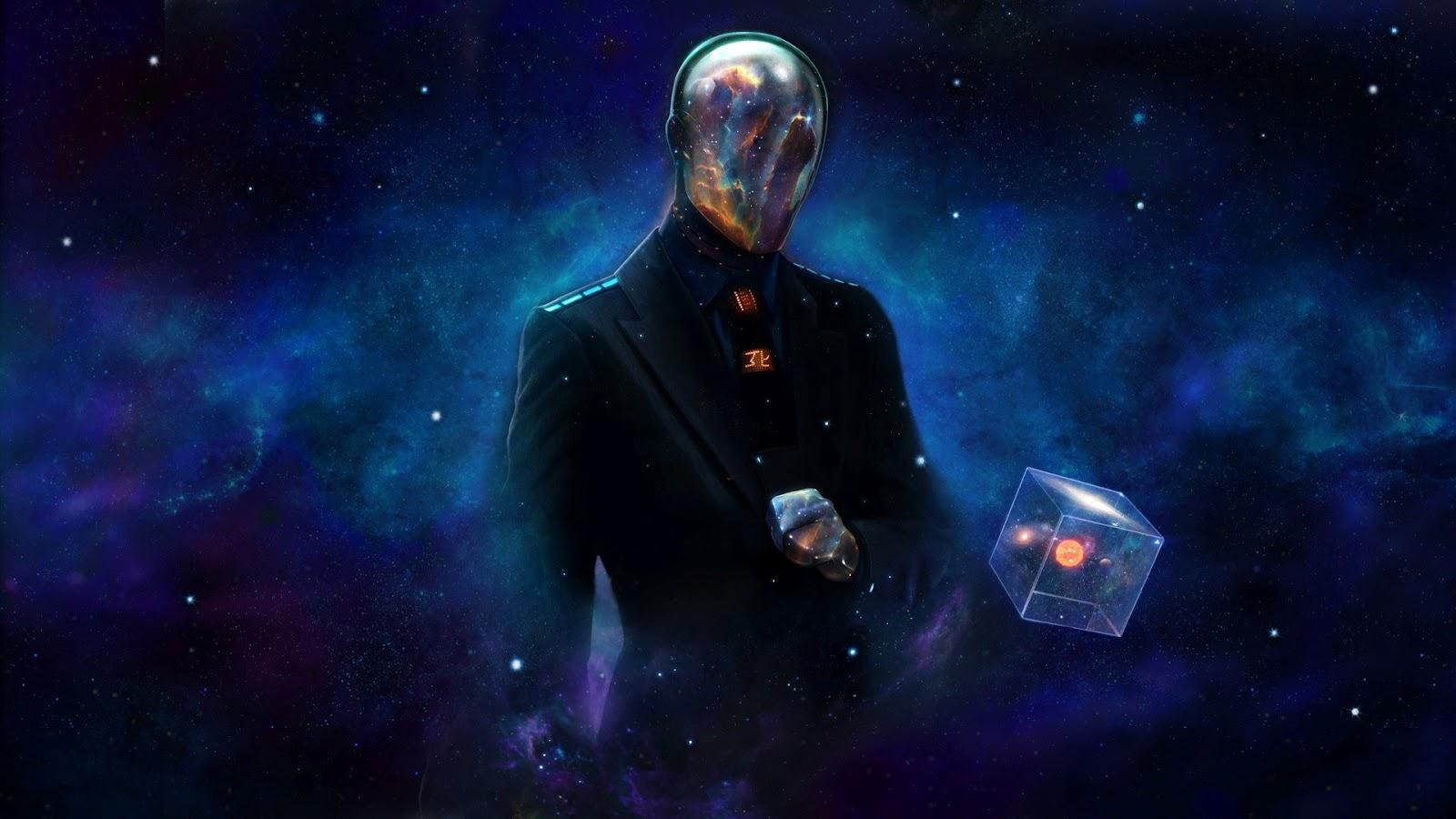 Mashababko Space Vortex Wallpaper