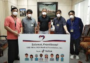 TikTok to provide US$1M aide to PH Medical Frontliners #SalamatFrontliners