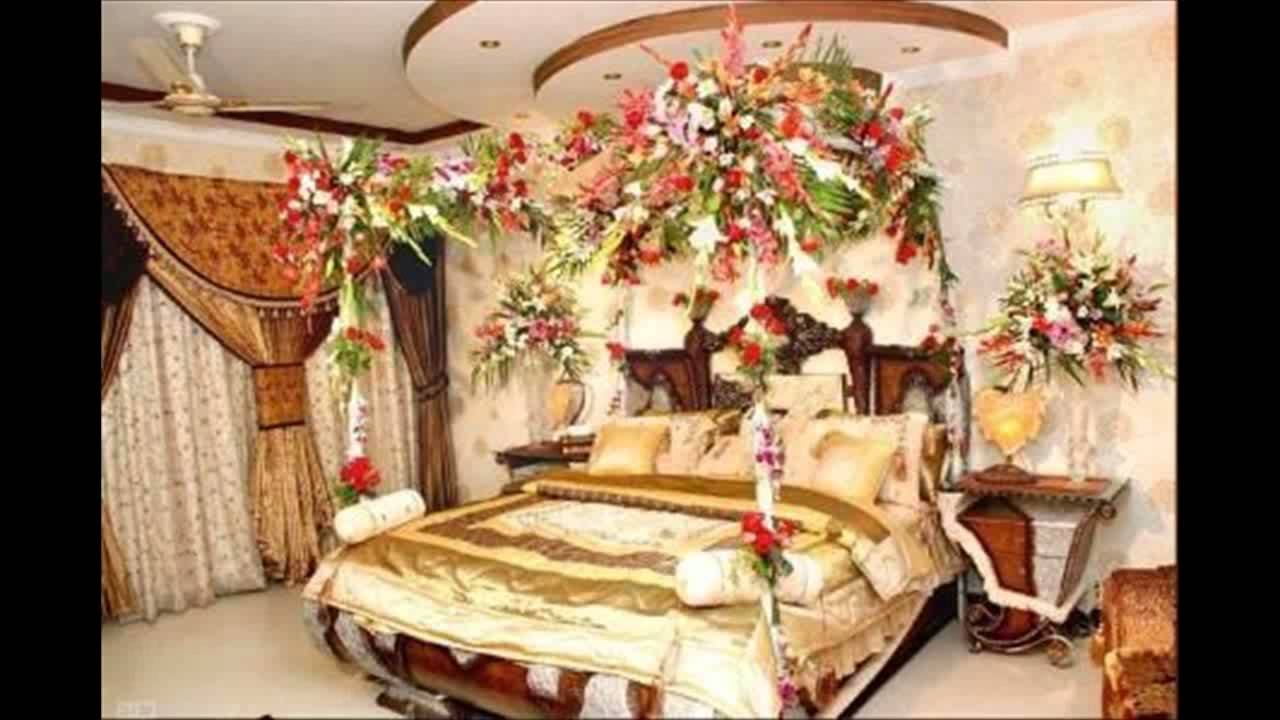 Bedroom decorating ideas for wedding night - Best Wedding Night Room Decoration Ideas For Couples Interior Decod Rooms For First Night Bedroom