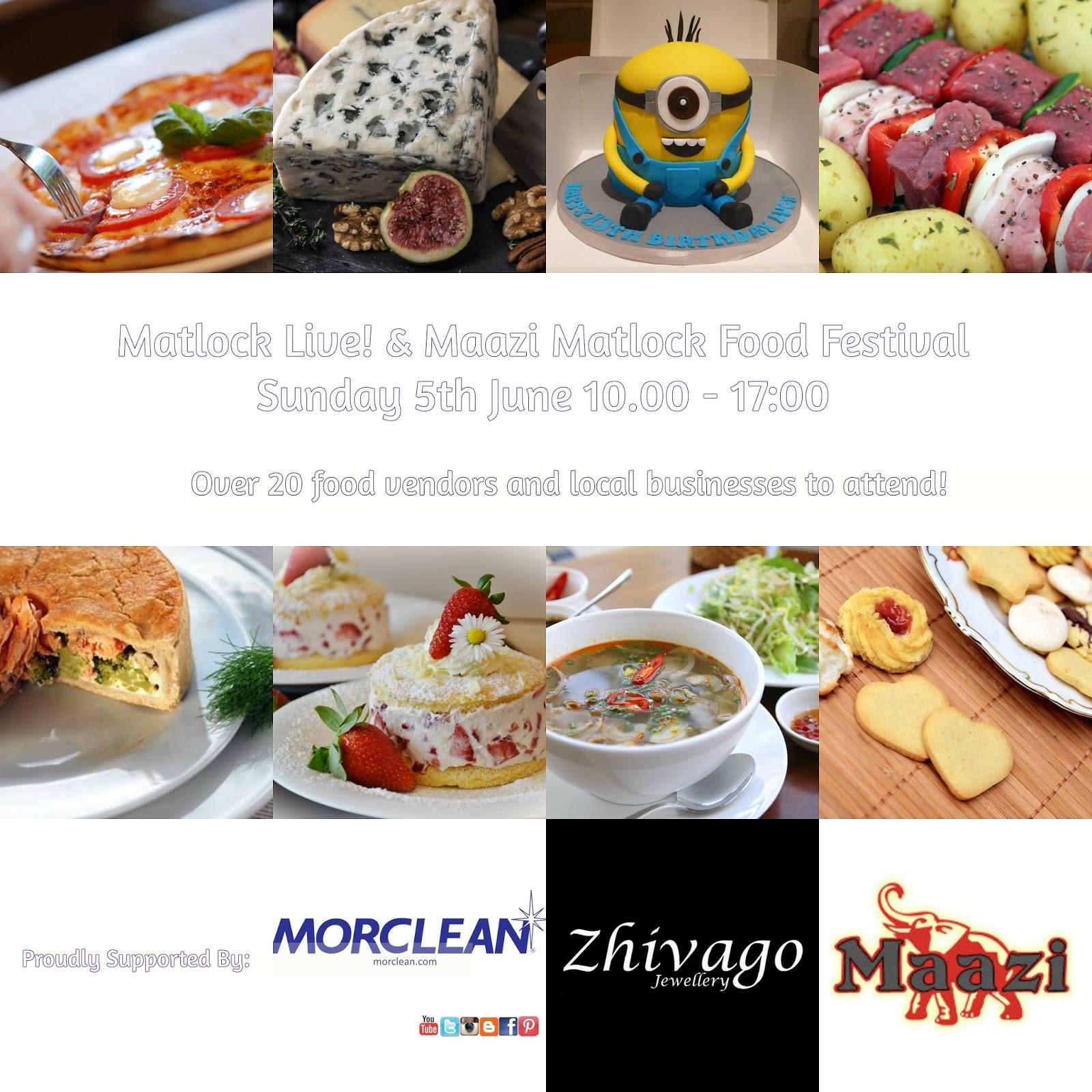 Maazi Food Festival Matlock