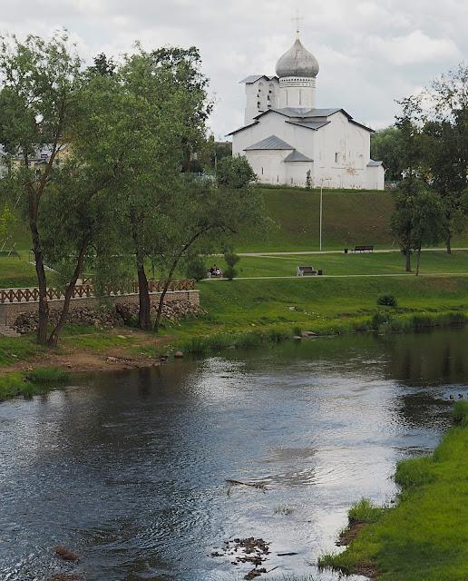 Псков, река Пскова (Pskov, Pskov River)