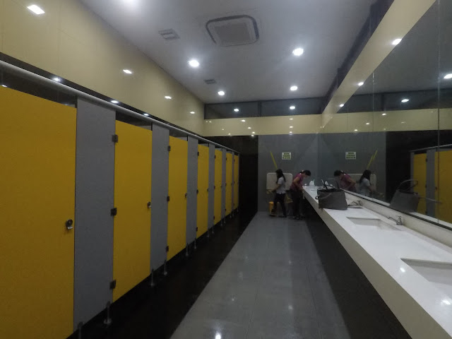 Dumaguete Ceres Bus Terminal Female's Bathroom Cubicles