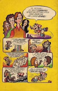 Éramos seis. Maria José Dupré. Editora Ática (São Paulo-SP). Coleção Vaga-Lume. 1973. Contracapa.