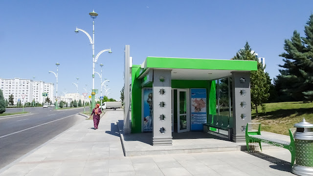 Turkmenistan by Bus. With Aircondition and no hassle!
