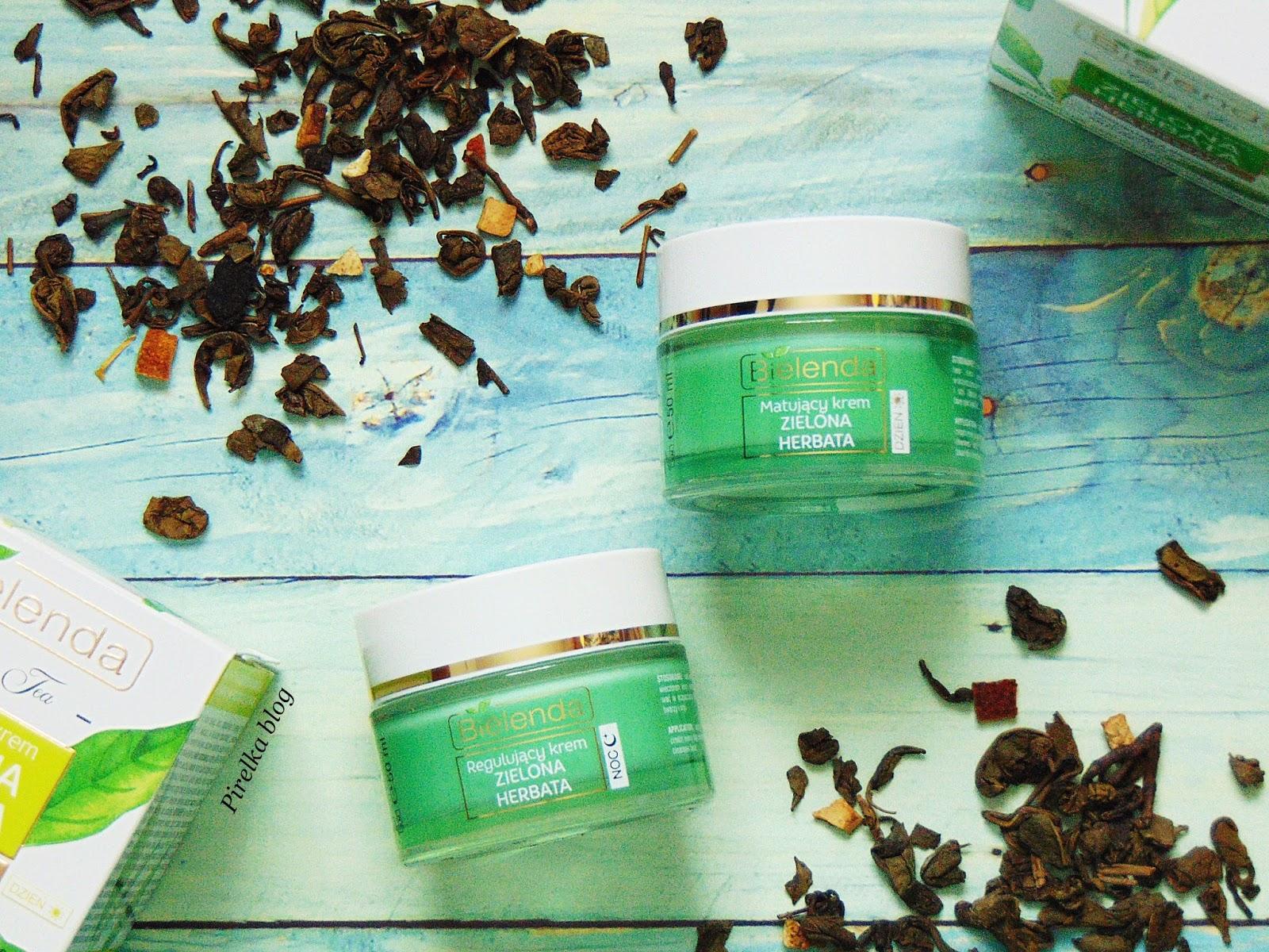 Bielenda, Zielona Herbata - Krem matujący na dzień i Krem Regulujący na noc