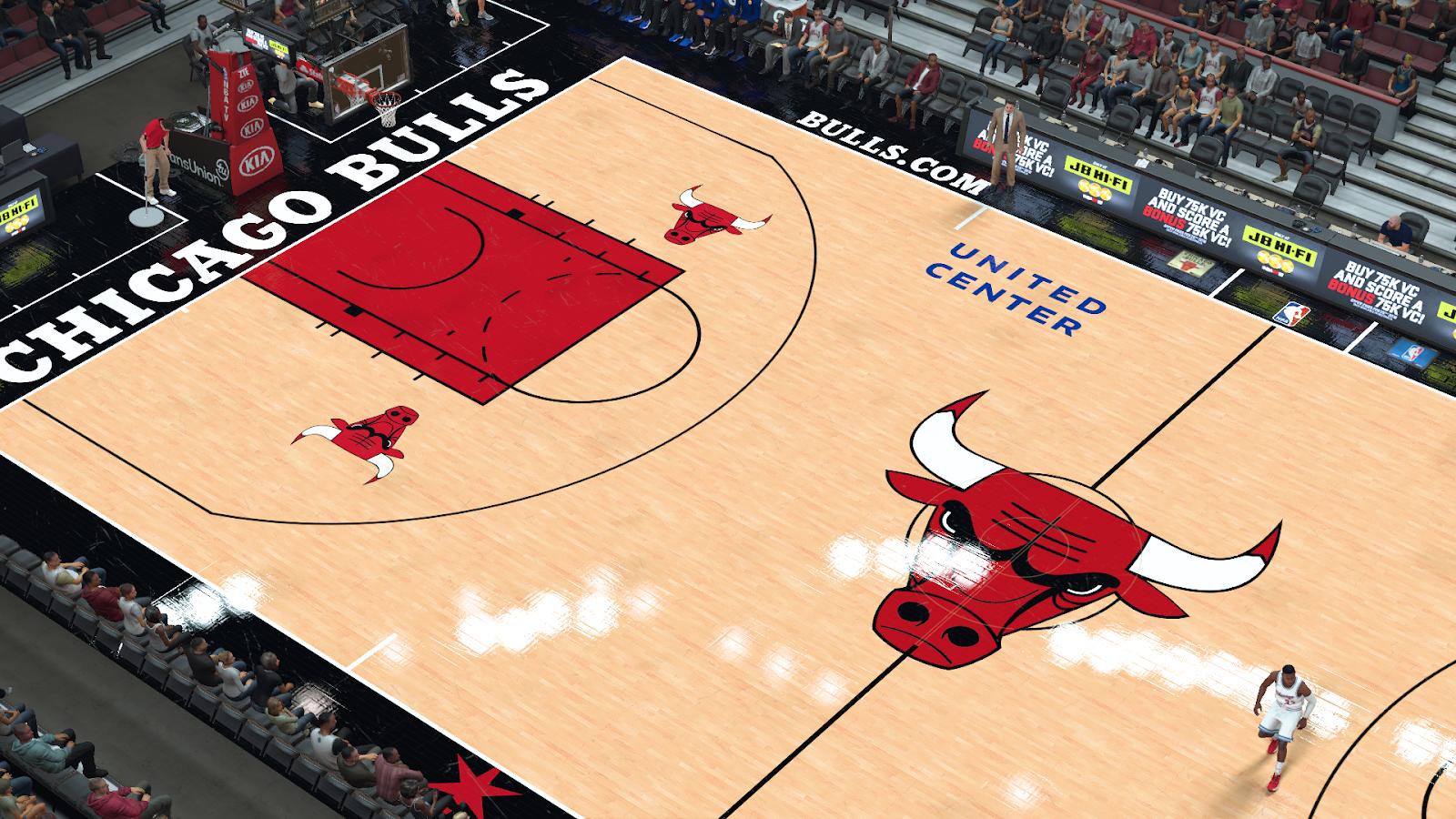 Manni Live 2k Patches Chicago Bulls United Center