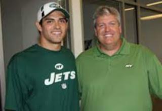 Mark Sanchez With His Dad