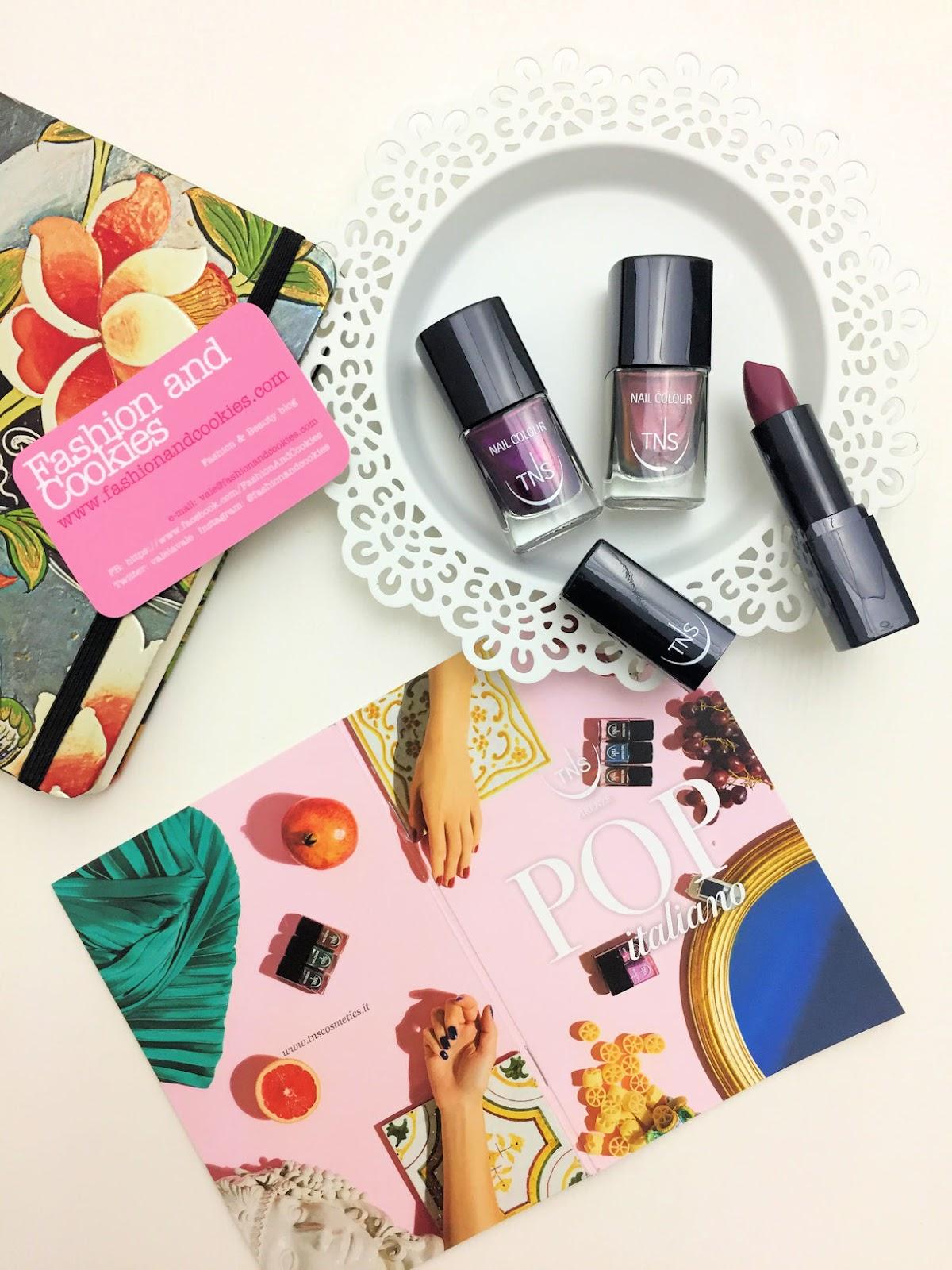 TNS Firenze collezione POP italiano smalti e rossetti su Fashion and Cookies fashion blog, beauty blogger