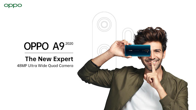 OPPO A9 2020 with quad-camera to launch on September 16.