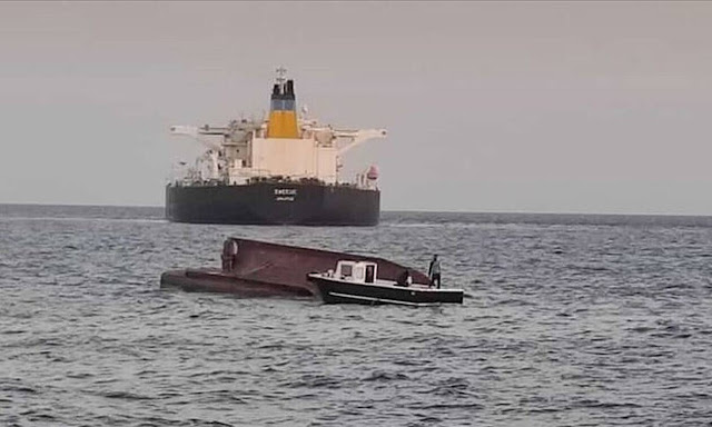 5 αγνοούμενοι από σύγκρουση ελληνικού τάνκερ με τούρκικο ψαροκάικο (βίντεο)