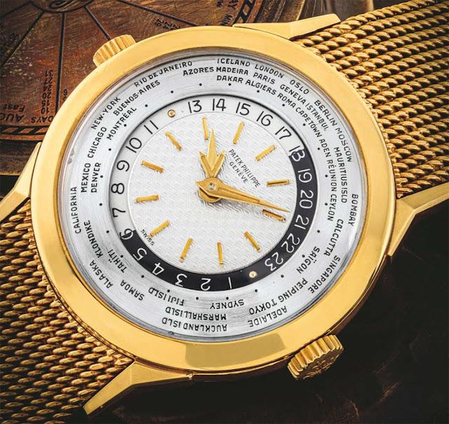 Patek Philippe ref.2523 World Time Christie's Lot 2509
