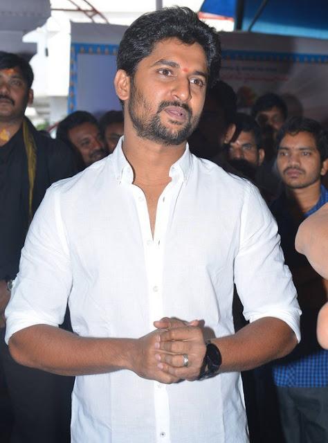 Nani, Nivetha Thomas New Movie Launch Photos