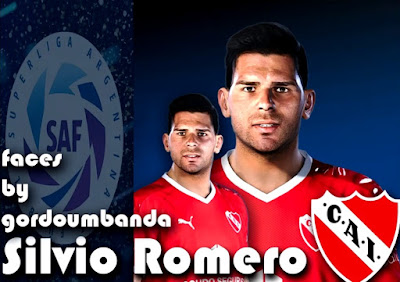 PES 2020 Faces Silvio Romero by Gordoumbanda